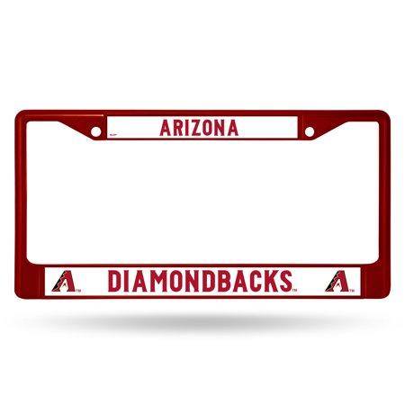 Rico Industries MLB Color License Plate Frame, Arizona (Arizona Diamondbacks Framed Wall)