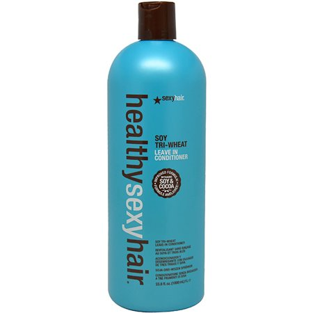Healthy Sexy Hair Soy & Cocoa Tri-Wheat Leave-In Conditioner by Sexy Hair for Unisex, 33.8