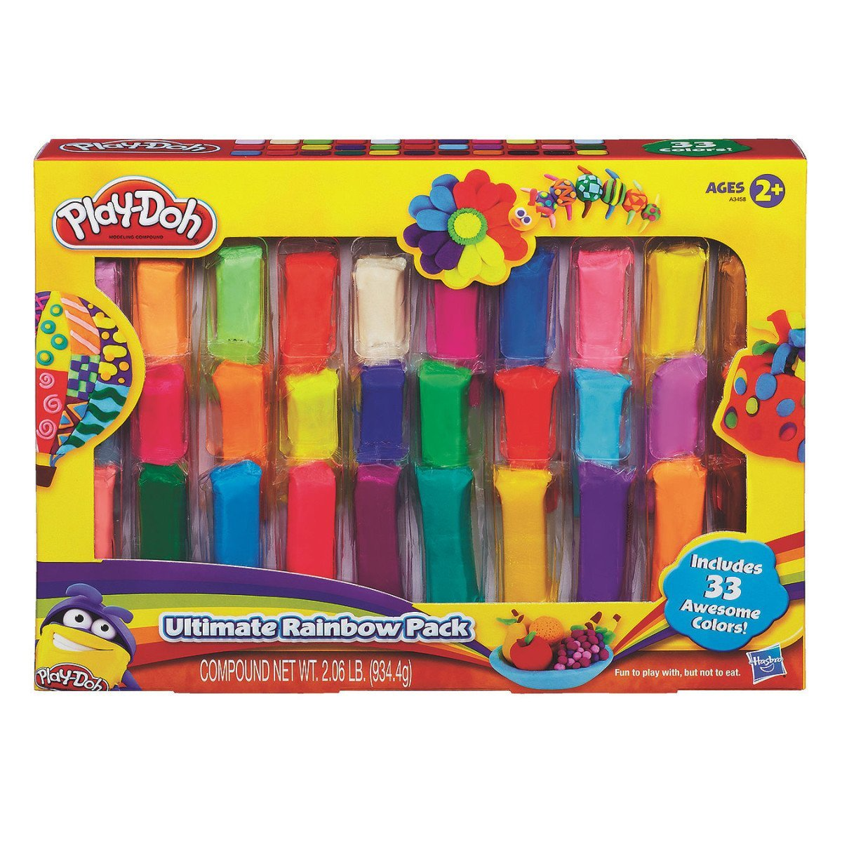 Play-Doh Ultimate Rainbow PackTested for quality and durability By Hasbro