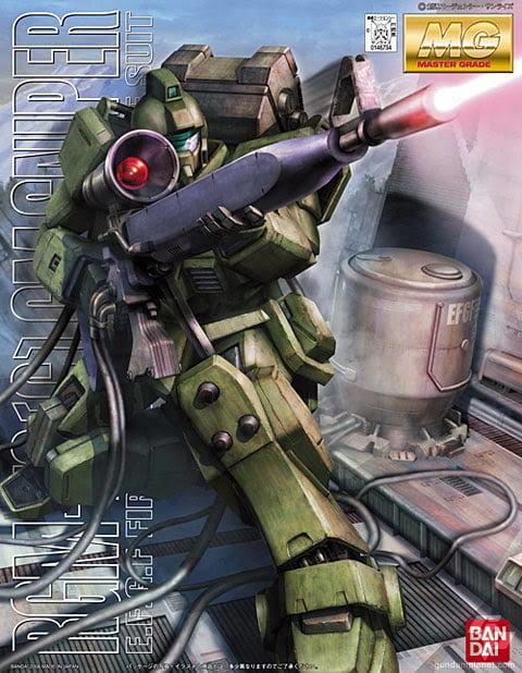 Bandai Hobby Gundam 08th MS Team RGM-79 [G] GM Sniper MG 1 100 Model Kit by Bandai Hobby