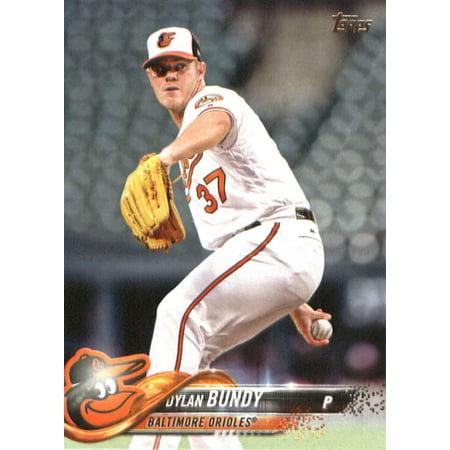 2018 Topps #3 Dylan Bundy Baltimore Orioles Baseball -