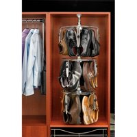 Rev-A-Shelf RCLSZ-M3-55-1 3-Tier Men's Lazy Shoezen with Shaft Closet