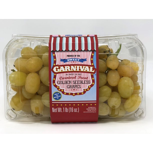Sweet Carnival Grapes, 16 oz