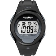 Men's Ironman Essential 10 Full-Size Watch, Black Resin Strap