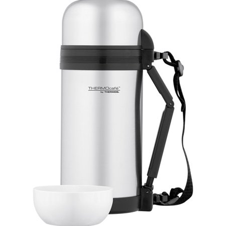 Thermos thermocafe vacuum insulated large food and for Thermos caffe