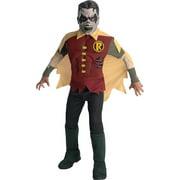 Green Lantern Blackest Night Muscle Chest Costume Child: Robin Zombie