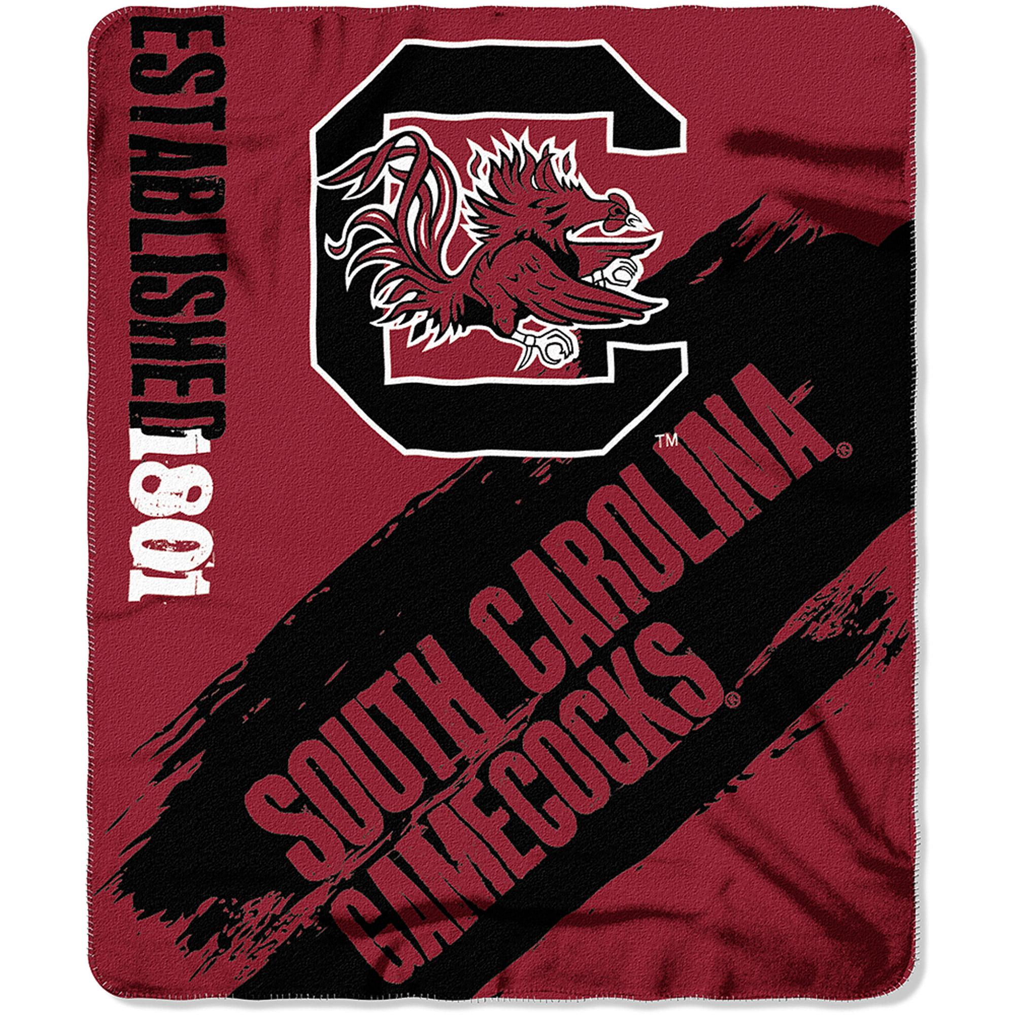 """NCAA South Carolina Gamecocks 50"""" x 60"""" Fleece Throw"""