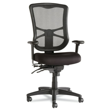 Alera Elusion Series Mesh High-Back Multifunction Office Chair, Black