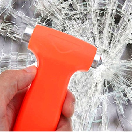 Grtsunsea Mini Car Emergency Hammer Glass Window Breaker Belt Cutter Rescue Tool Safety Escape Tool For Car Bus