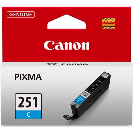 Canon CLI-251C Cyan Ink Cartridge (6514B001)