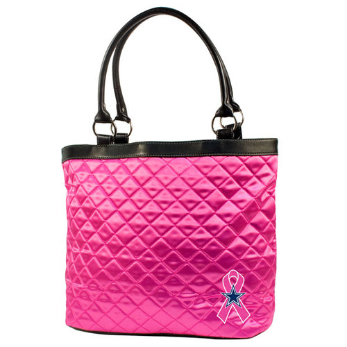 NFL - Dallas Cowboys Breast Cancer Awareness Quilted Tote