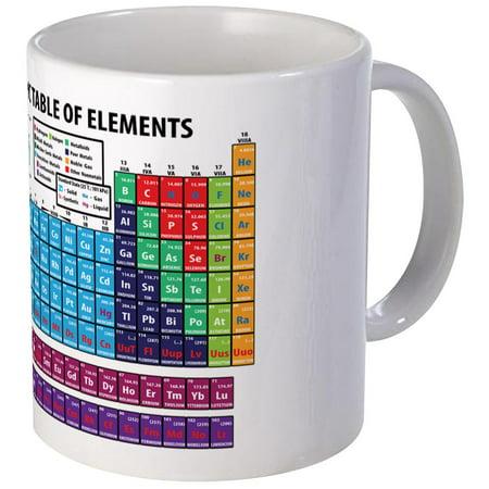 CafePress - Periodic Table Mugs - Unique Coffee Mug, Coffee Cup (Periodic Table Cup)