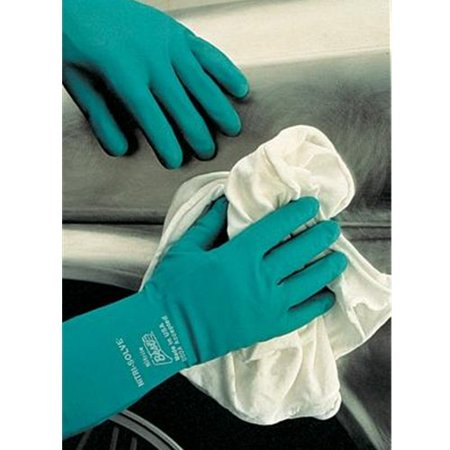 Nitri-Solve Unsupported Flock Lined Nitrile Glove - Medium - 1 Pair - 730-08 by Manufacturing Co, 46181504 By (Best Glove Manufacturing Company)