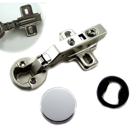 """Dia 1""""/26mm Hole Euro Hydraulic Full overlay Style Soft Close Hinge for Cabinet Glass Door"""