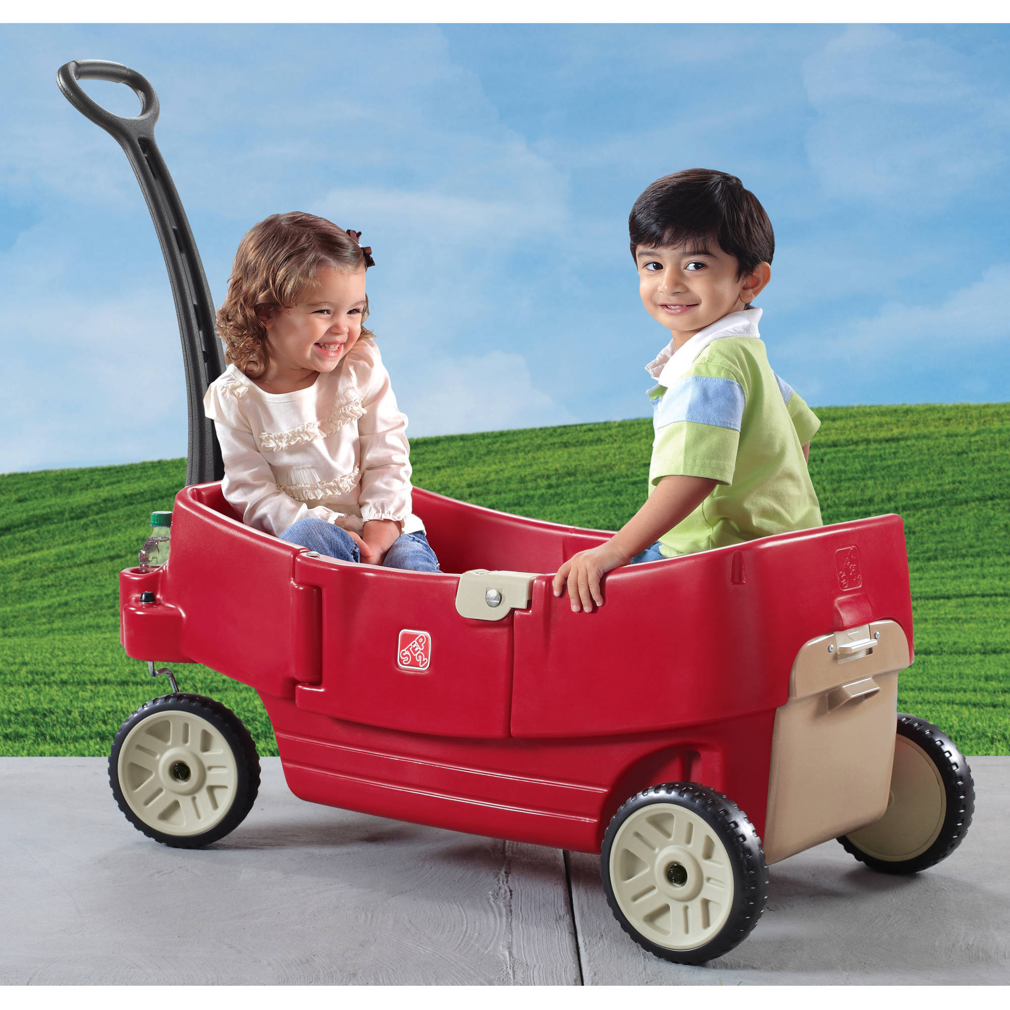 Step2 All-Around Wagon, Red with 6 Cup/Snack Holders
