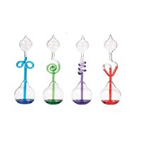 Glass Science Energy Transfer,4 Pcs (Red,Green,Blue and Purple) Hand Boiler