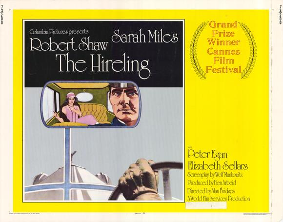 """The Hireling - movie POSTER (Style A) (11"""" x 14"""") (1973) - Walmart ..."""