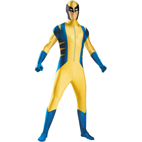 Wolverine Bodysuit Adult Halloween Costume - One Size