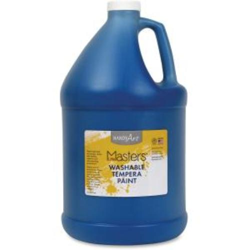 Rock Paint Distribution Corp 214-730 Handy Art Little Masters Washable Tempera Paint Gallon - 1 Gal - 1 Each - Blue