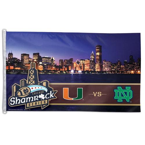 NCAA - Notre Dame Fighting Irish Shamrock Series 3x5 Flag