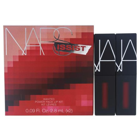 NARSissist Wanted Power Pack Lip Kit - Hot Reds by NARS for Women - 2 x 0.09 oz Cherry Bomb, Dont