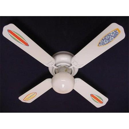 Ceiling Fan Designers 42Fan Kids Ssb Surfboards Ceiling Fan 42 In
