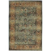 Mohawk Home Studio Aksel Blue Woven Area Rug, 8'x10', Blue