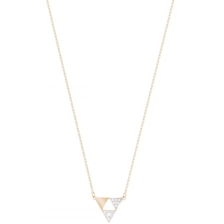 50f5fdae7a041 Swarovski Heroism Necklace - Small - White - Rose Gold Plating - 5347298