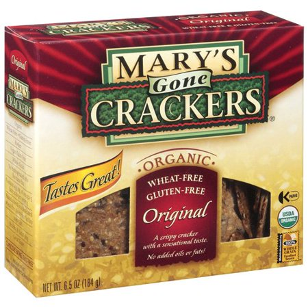 Mary's Gone Crackers Original Crackers 6.5 Ounce Box