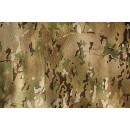 53 inch Wide Rayon, Para-Aramic & Nylon Ripstop Fabric - MultiCam® Camouflage