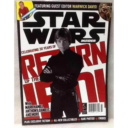Star Wars Insider Magazine, August/September Issue, #143 2013! 98 Pages, Full Color!