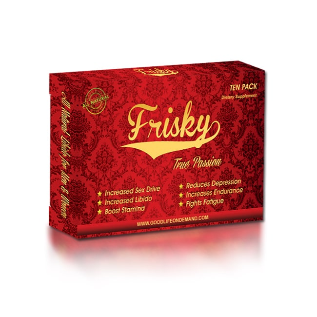 Allure Imports Frisky The Best Male Enhancement on the Market (10 Count)