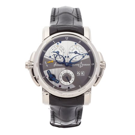 Pre-Owned Ulysse Nardin Watch Sonata Catherdral Dual Time