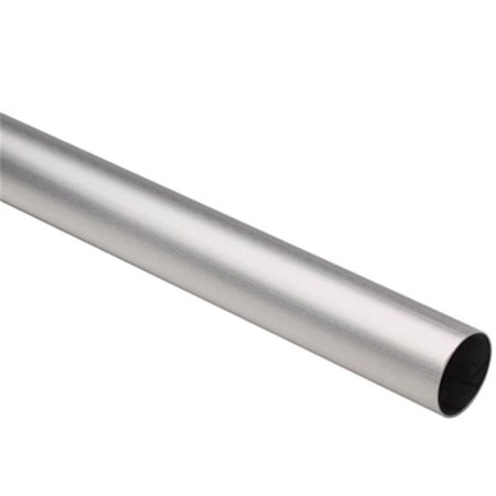 - Lavi L44 A110 96 1-.50In.X96 In. Tubing - Satin Stainless Steel