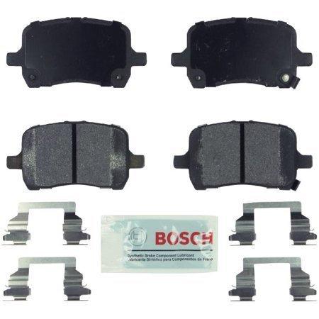 Go-Parts OE Replacement for 2005-2010 Pontiac G6 Front Disc Brake Pad Set for Pontiac G6 (GT / GTP / GXP / SS)