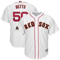 Mookie Betts Boston Red Sox Majestic 2019 Gold Program Cool Base Player Jersey - White