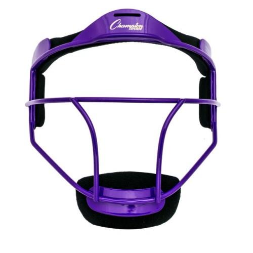 Champion Sports Softball Fielders Face Mask Youth, Purple by Champion Sports