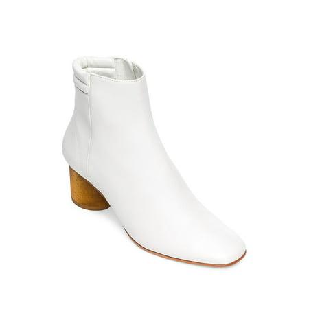 Izzy Leather Booties - Bernard Boots