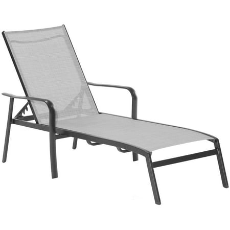 Superb Hanover Foxhill All Weather Commercial Grade Aluminum Chaise Lounge Chair With Sunbrella Sling Fabric Ncnpc Chair Design For Home Ncnpcorg