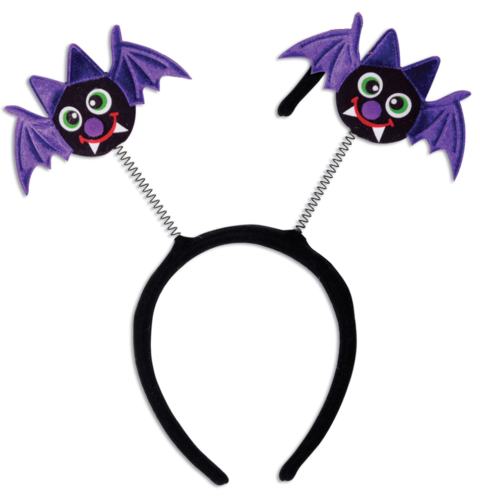 Halloween Character Bouncy Funny Bat Bopper Headband Costume Accessory