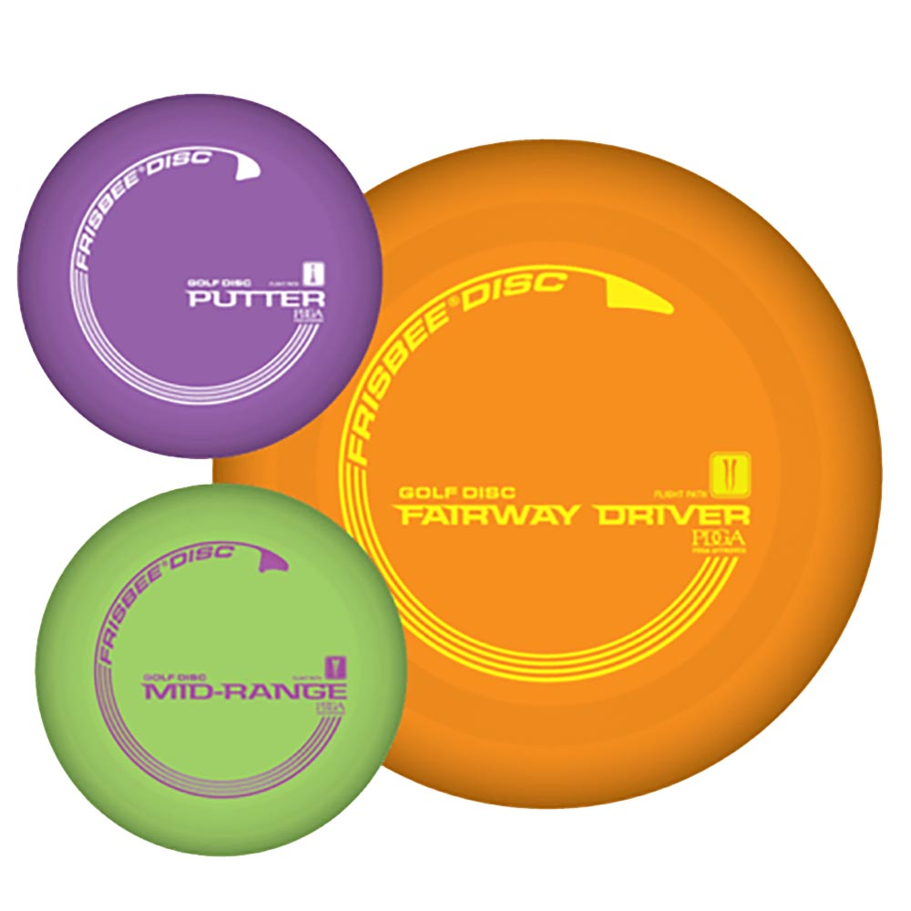 Wham-O Frisbee Golf, 3-Pack by Wham-O