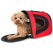 Airline Approved Folding Zippered Sporty Mesh Pet Carrier