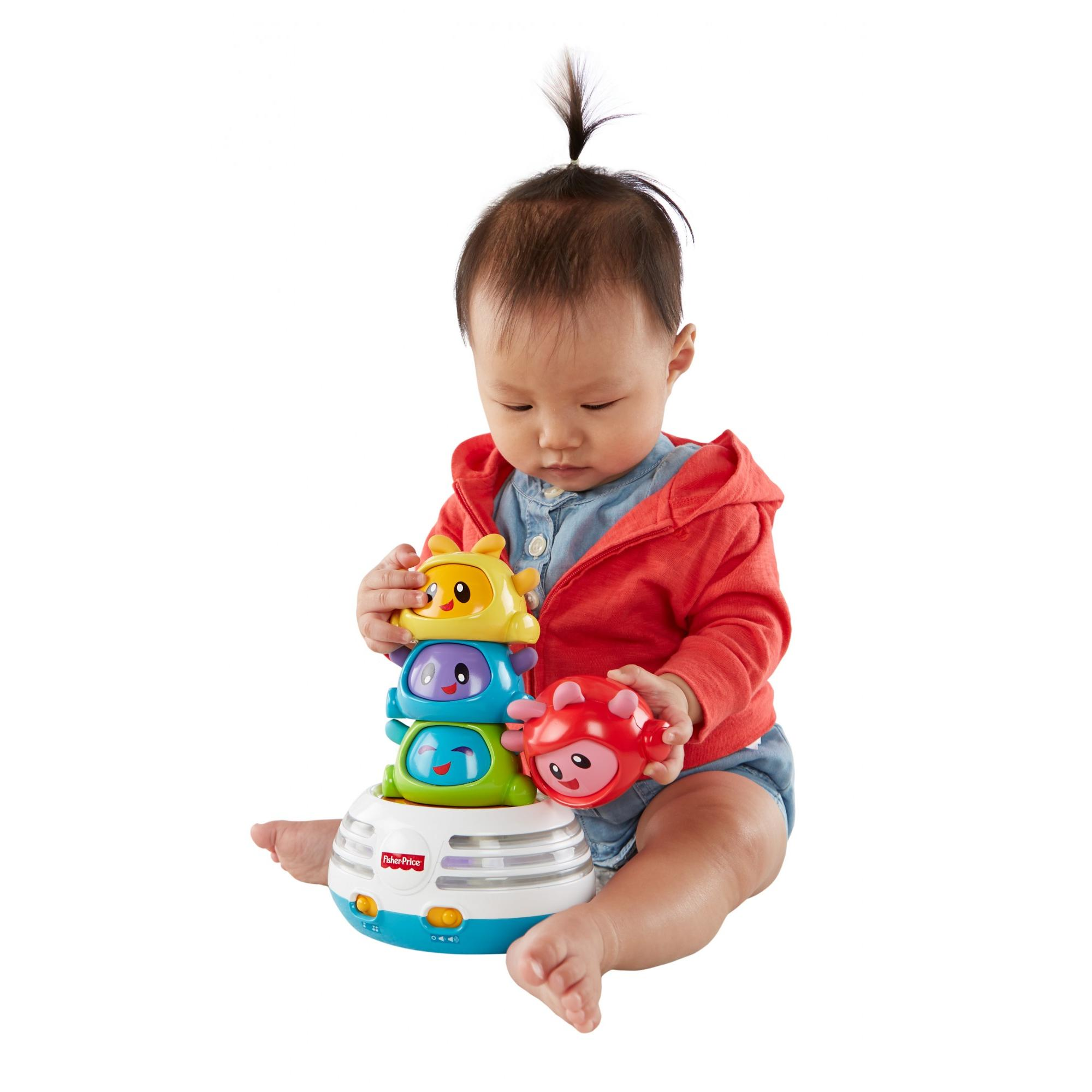 Fisher Price Bright Beats Build-a-Beat Stacker by FISHER PRICE