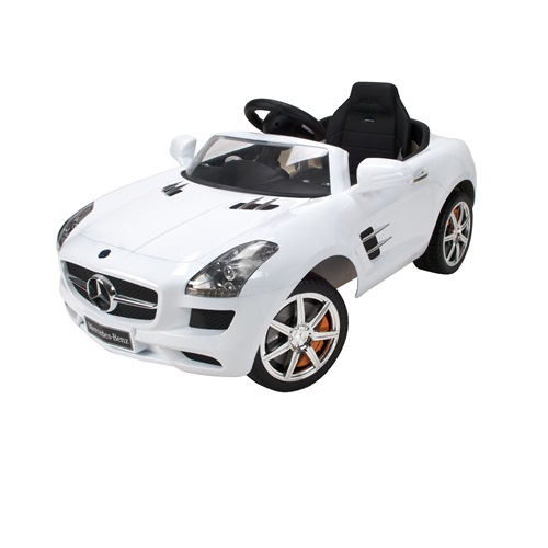 Captivating Mercedes Benz SLS AMG Convertible 6 Volt Electric Ride On