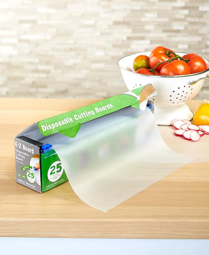 E Z Board Plastic Disposable Cutting Boards 25 Square Feet Walmart Com Walmart Com