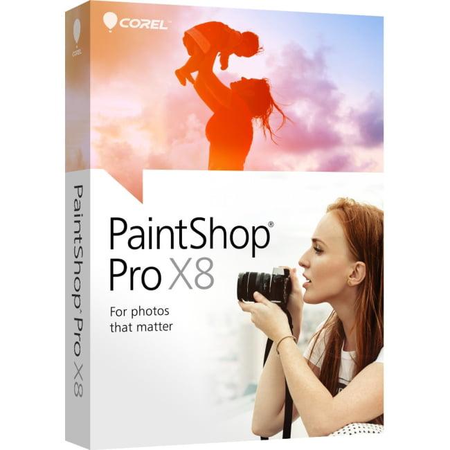 Corel PaintShop Pro X8, English Edition (PC)