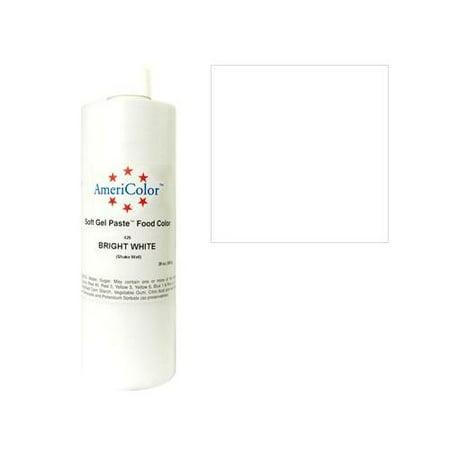 AmeriColor Gel Colour - Bright White - 20 oz - Walmart.com