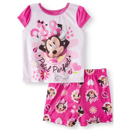 Disney Minnie Mouse poly 2pc sleep set (toddler girls)