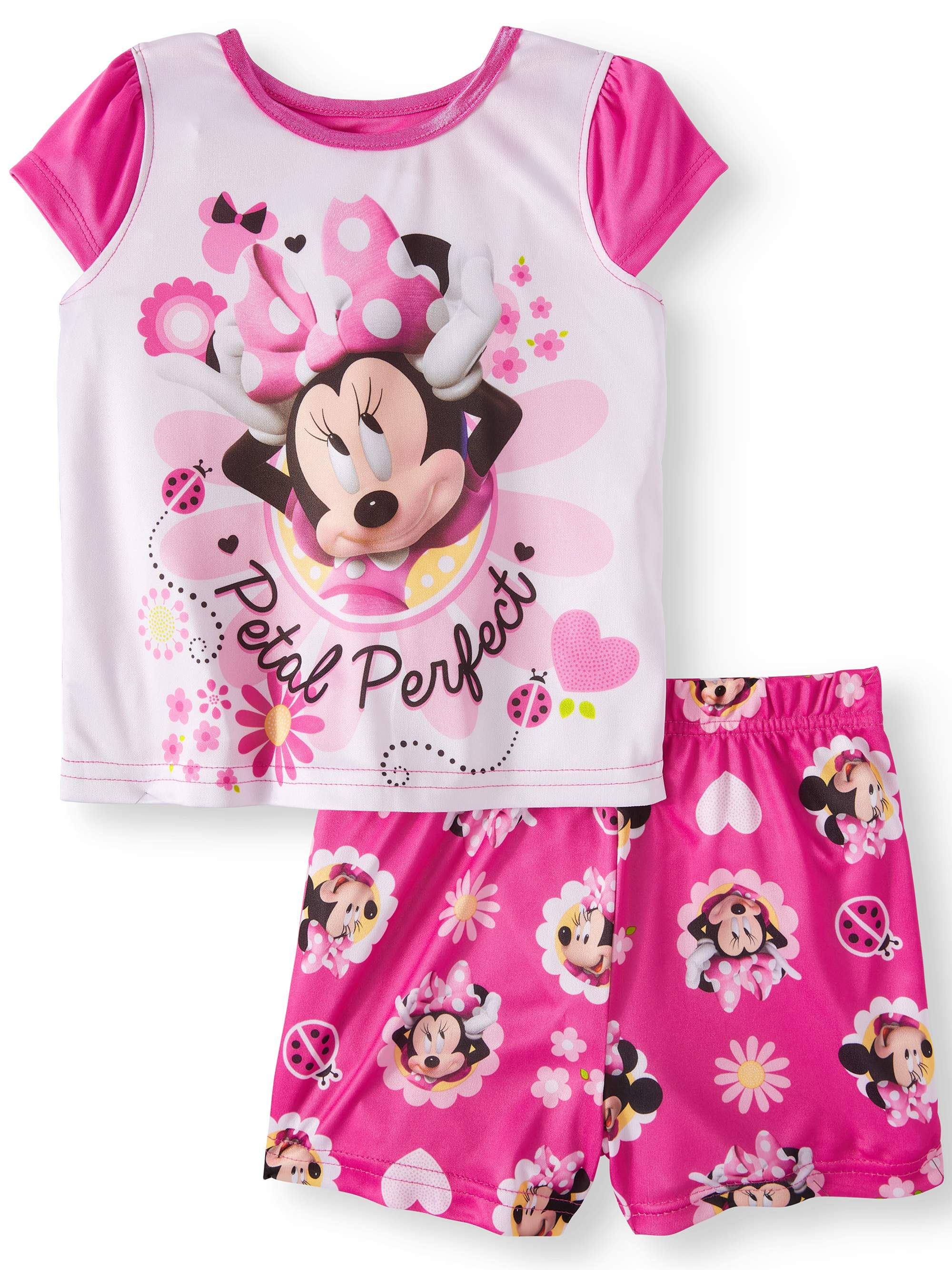 Minnie Mouse Poly 2pc Sleep Set (Toddler Girls)