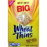 Nabisco Wheat Thins Wheat Thins Crackers Big, 8 OZ (Pack of 6)